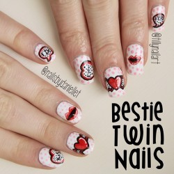 Bestie Twin Nails