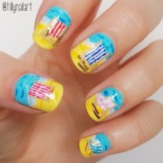 Deck chair nails
