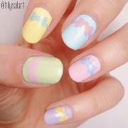 Easter day pastel nails