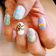 Easter Nails Left