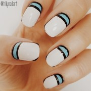 Sports luxe nails